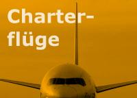 Charterflüge suchen und buchen